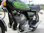 KAWASAKI - H1D - SIDE PANEL - TRANSFERS - 1973 - CANDY LIME MODEL - D57015
